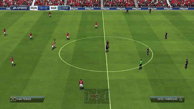 tải xuống Game bóng đá trực tuyến miễn phí FIFA 14