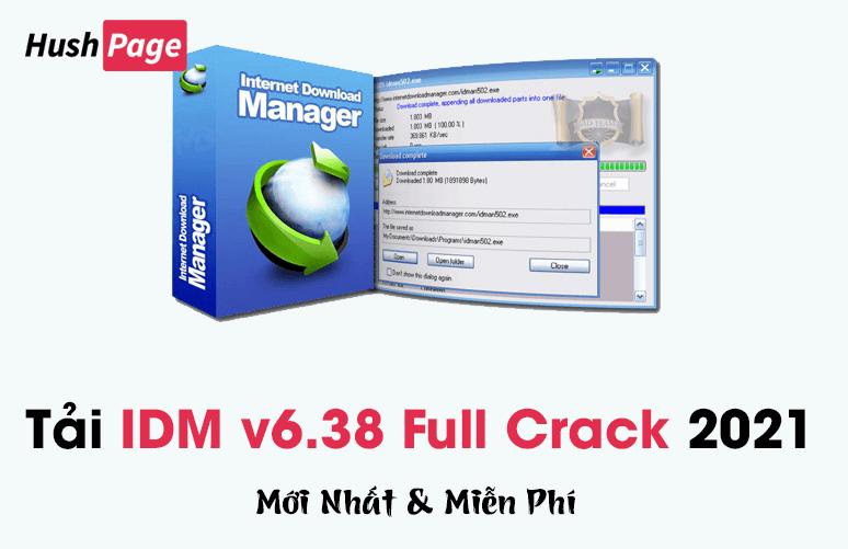 tải phần mềm idm v6.38 full crack
