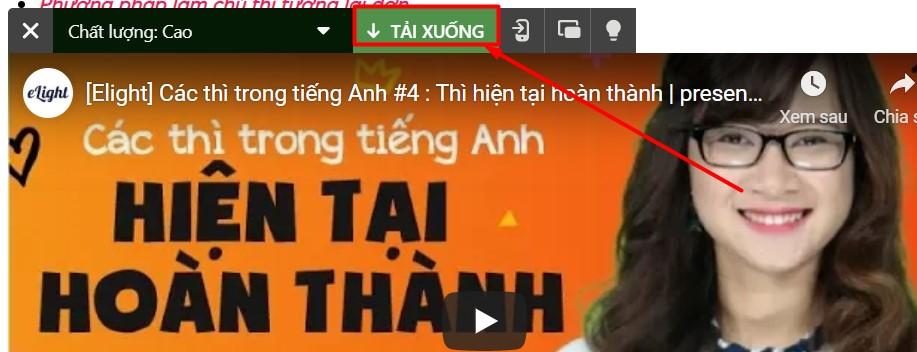 Download video từ website bất kì bằng coccoc