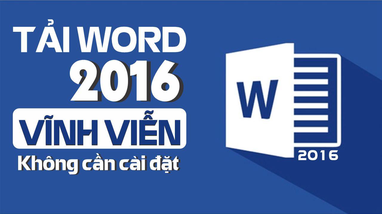 Cách tải Word 2016 miễn phí, cực nhanh【Cho Người Mới】