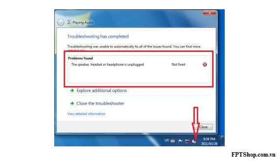 khắc phục lỗi loa laptop không nghe được 6
