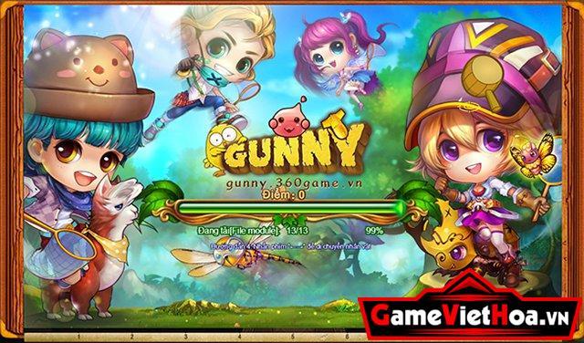 Gunny 360 Play có tạo hình nhân vật rất dễ thương