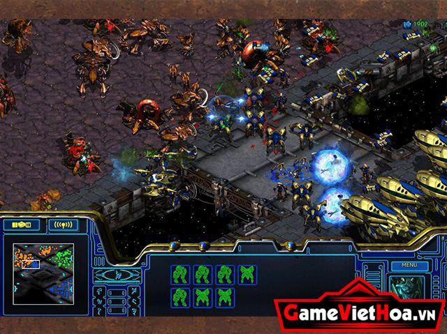 Hình ảnh trong game StarCraft Remastered